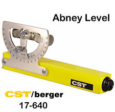 CST/Berger 17-640 Grade Reading Abney Hand Level with Priority Mail