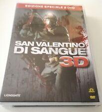 SAN VALENTINO DI SANGUE 3D (ED.SPECIALE 2 DVD + OCCHIALI 3D) FILM DVD OTTIMO ITA