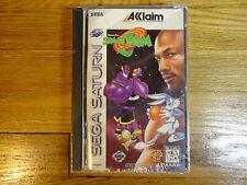 Space Jam Sega Saturn Michael Jordan Bugs Bunny Brand New and Sealed RARE
