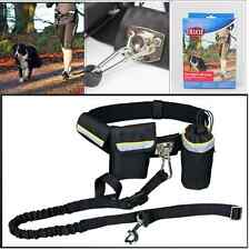 German Brand TRIXIE Waist Belt with Dog Leash Pockets Hands Free Jogging Running
