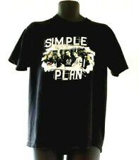Simple Plan T Shirt Black Size L