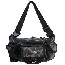 Fanny Pack Fishing Bag Portable Outdoor Tackle Box Waist Bag Hiking Travel Camp