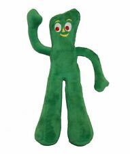 Multipet Plush Filled Gumby Noisemaking Squeaker Interactive Dog Toy 9in