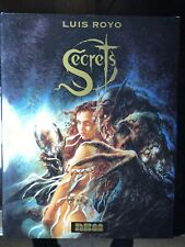 """Secrets"" By Luis Royo 1996 Hardcover Hc Dj Fantasy Art"
