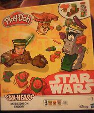 Play-Doh Can Heads Disney Star Wars 'Mission on Endor' Bnib.