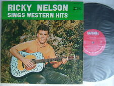 RICKY NELSON SINGS WESTERN HITS RICK / 60'S LAMINATED FLIP BACK COVER