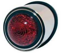 SHIN YO LED-Rücklicht OLD SCHOOL TYP1, chrom, rotes Glas