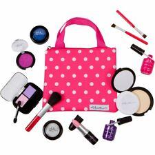 PixieCrush Pretend Play Makeup Kit. Girls Beauty Basics 12 Piece Polka Dot