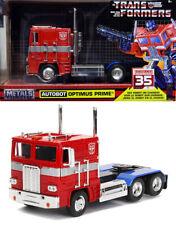Heroic Autobot Optimus Prime Transformers Truck 1:24 Jada Toys 99524