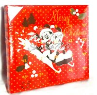 Disney Christmas Advent Calender 25 Days Of Baubles Mickey Mouse Primark New