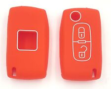 HOUSSE SILICONE ROUGE PEUGEOT 406, 407, 408, 307, 207,107