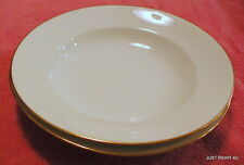 "{SET OF 2} Latrille Freres Limoges (Old Abbey LAT15) 9 1/4"" SOUP BOWLS Exc"