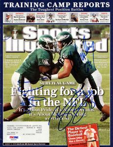 Fraley, Jackson & Bradley Autographed Signed SI Magazine Eagles PSA/DNA X65370