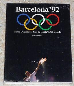BARCELONA'92 LLIBRE OFICIAL DELS JOCS DE LA XXVa OLIMPÍADA - PLAZA & JANES