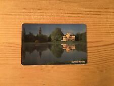 PHONECARD PHONE CARD TELEFONKARTE USED GERMANY SCHLOSS WORLITZ GARDENS