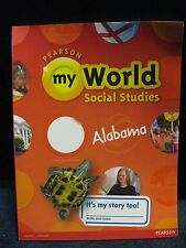 Pearson My World Social Studies Alabama Book