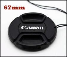 TAPA DELANTERA PARA OBJETIVO CANON 67mm Front Lens Cap CANON  67 CON  CORDÓN