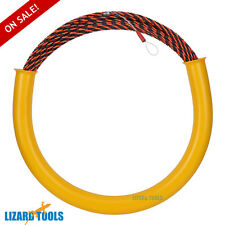 50M 6mm Cable Puller Conduit Snake Fish Tape Cable Rodder Tested 650KG Taiwan
