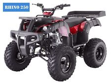 "ATV  New 250D Adult Full Size 4 Wheeler 4 Speeds w/Reverse! Free S/H 23"" Tires!!"