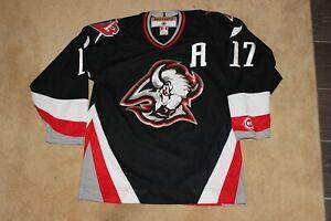 VINTAGE 2000-06 MENS NHL BUFFALO SABRES SEMI PRO KOHO JERSEY MEDIUM CUSTOM NAME