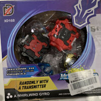 Beyblade Xd168-7 whirlwind gyro with transmitter