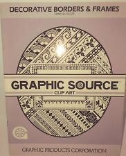 The Graphic Source Clip Art Decorative Borders & Frames 1986