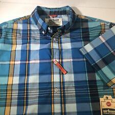 Urban Pipeline Plaid Button Shirt Maxflex Size XL