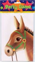 Childs Party Loot Bag Bags Toy Game Pin The Tail on The Donkey Decoration 4976
