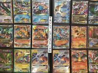 Pokemon Cards Lot 50 TCG Binder Collection packs Holo Secret EX GX lot 1st Ed