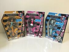 NEW Lot of 3 Monster High Mini Doll Pen, Draculaura, Frankie & Cleo Fashionably