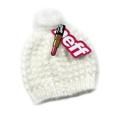 NWT Neff Headwear Jillian White Pom Women's Beanie