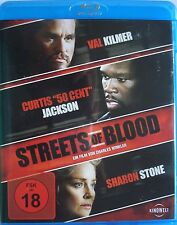 """STREETS OF BLOOD    [Blu-ray]  __   FSK 18 __  VAL KILMER _ CURTIS """" 50 CENT"""