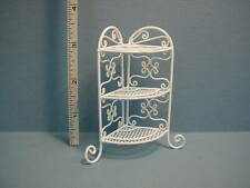 dollhouse Miniature Wrought Iron Corner What Not Stand H121 Bright Delights 1/12