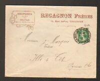 "TOULOUSE (31) DRAPERIES & COUTILS / TEXTILES ""REGAGNON Freres"" en 1913"