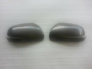 Genuine Front Side Mirror Cover 2p Silver IM for 2009 2013 Kia Forte & Koup