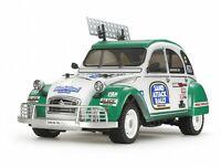 Tamiya 1:10 Karosserie-Satz Citroen 2CV Rally Ente 51617 mit Reifen