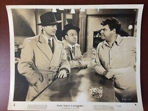 "RALF BYRD IN DICK TRACY'S DILEMMA.VINTAGE.ORIGINAL  PHOTO.1947.8""X 10"".F"