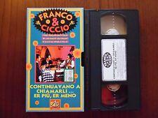 Continuavano a chiamarli .... (Franco Franchi, Ciccio Ingrassia) VHS De Agostini