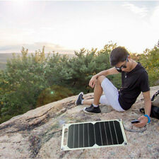 Fast 5W 10V Portable Outdoor Solar Power Bank USB Solar Charger Charging Panel