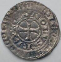Charles IV Le Bel - Maille blanche - 1326 - Monnaie royale en argent