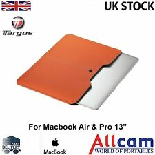 "Targus Housse pour ordinateur portable / notebook Sacoche pour 13 ""macbook air & pro en orange"
