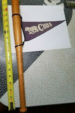 SCARCE Vintace CHICAGO CUBS c.1930's or 40's ?? miniature bat with small pennant