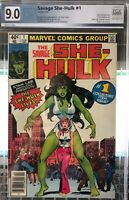 Hot! Savage She Hulk 1 9.0 Graded PGX Not CGC or CBCS The Series Is Coming! MCU