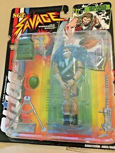Hasbro Military Doll Toy GI Joe Cryo Freeze Bio Sgt Salvage NIB  SKU 030-026