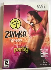 Zumba Fitness (Nintendo Wii, 2010) Join the party