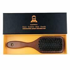 Brosse à Cheveux Plate Soie Poil de Sanglier Naturelle Coiffeur Professionnel FR
