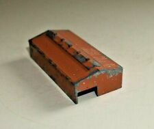TRIANG MINIC M840 WAREHOUSE DIECAST METAL BROWN    F173