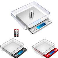 0.01-200g/500g Electronic Digital Balance Kitchen Food Jewelry Weight LCD Scale