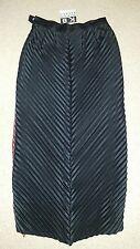 Kathleen Berney Designer Black pleat skirt Formal Sz S / 10  *BNWT* RRP $198