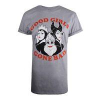 Disney - Ladies - T-shirt - Good Girls Gone Bad - Grey
